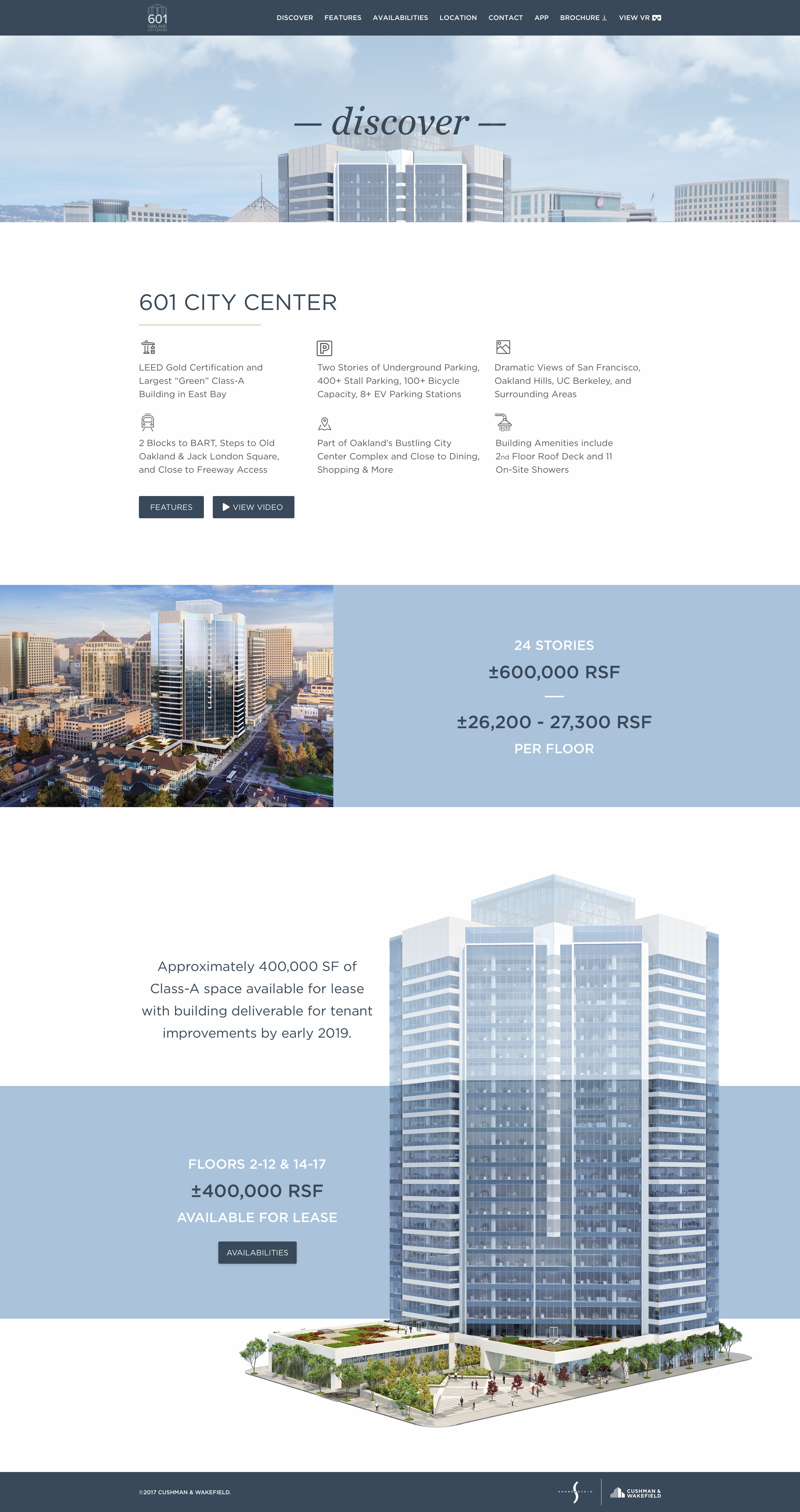 601citycenter discoverpage desktop