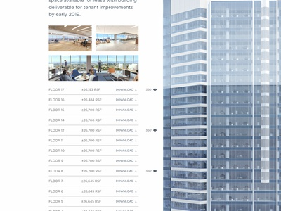 View Availabilities —601citycenter.com foundation real estate oakland responsive responsive design website
