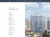 601citycenter   contact page   desktop