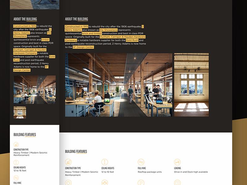2 Henry Adams —About the Building foundation development web design website