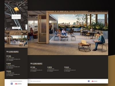 2 Henry Adams —Contact for Leasing Inquiries foundation hero image web design website