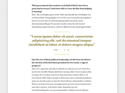 Feature Article pullquote kepler typography interview article