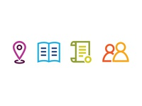 Scholarship Search Icons