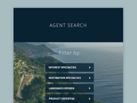 Agent Search Page