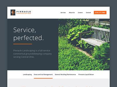 Homepage Concept web website mockup homepage home