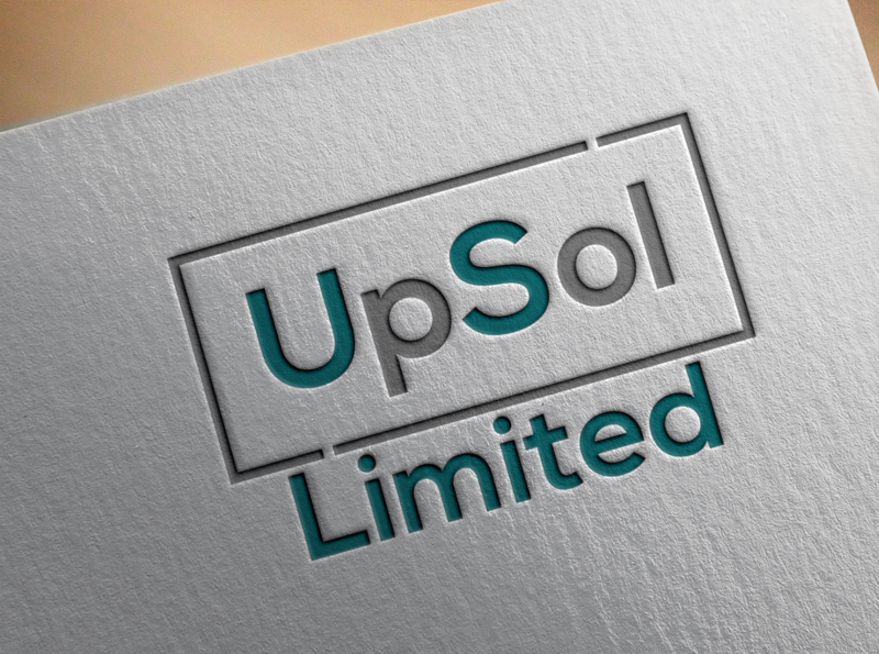 upsol 02 vector minimal logo illustrator illustration design branding
