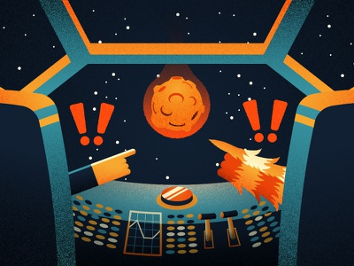 SOLO illustration space chewbacca han solo solo star wars