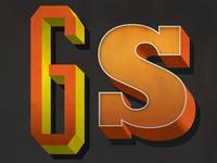 3d Letter Snipettes
