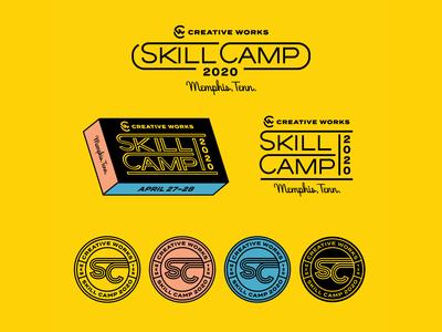 Skill Camp 2020 Logo System