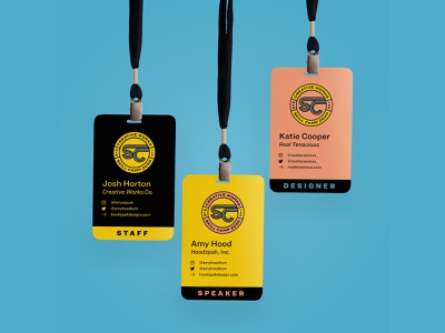 Skill Camp 2020 Badges and Buttons buttons conference lanyard branding seal hoodzpah design logo badge