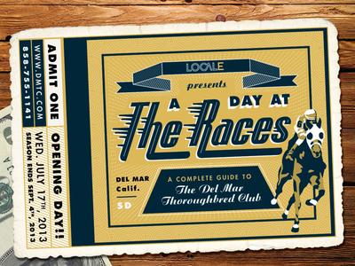 Del Mar Thoroughbred Club Ticket