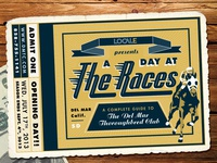Del Mar Thoroughbred Club Ticket