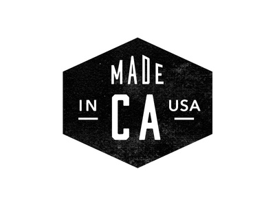 Made In CA Seal / Badge