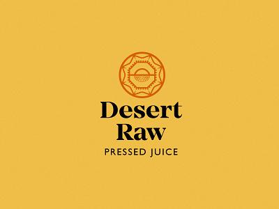 Desert Raw Logo System eastern hoodzpah sunset jewel logo system logo