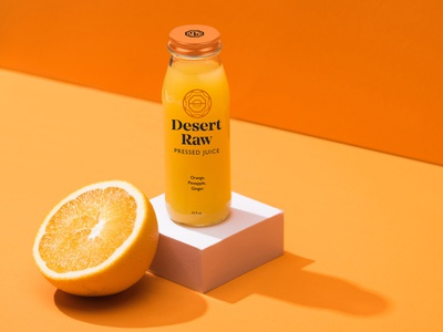 Desert Raw Juice Bottle System beverage bottle juice hoodzpah retail consumer goods packaging logo system logo