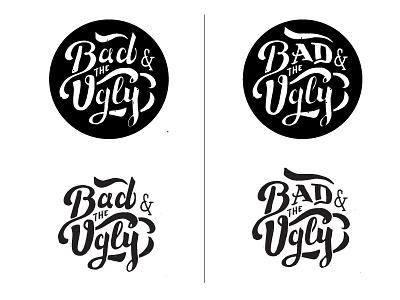 Bad   the ugly logo progress mockups