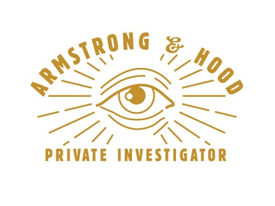 Private Eye Door For Batch private eye sleuth film noir 20s logo