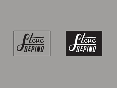 Steve Depino Logo Mockups A