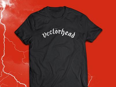 Vectorhead Unisex Tee gift hoodzpah pop culture pun tee t-shirt metal rock n roll rock