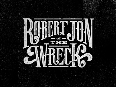 Robert Jon Final Custom Logo Type