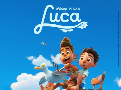 Unchosen Disney and Pixar's Luca Movie Title Treatments custom lettering custom type logo design pixar disney type design movie logo logo hoodzpah branding