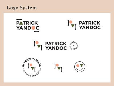Patrick Yandoc Logo brand identity branding logo design photography logo
