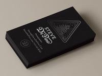 Steve DePino Business Card Design