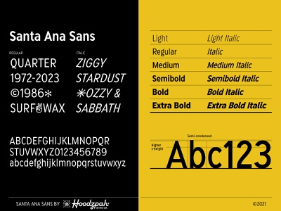 Santa Ana Sans type design font design sans serif retro hoodzpah font typeface type