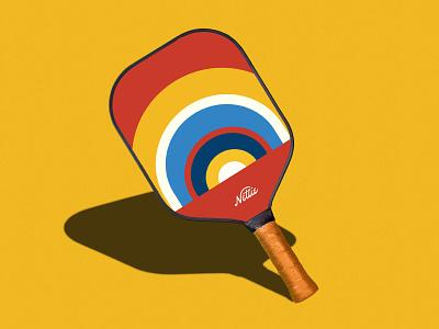 Nettie — Pickleball Brand Identity packaging design type lettering brand identity visual identity graphic design branding hoodzpah illustration logo