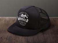 Hot Wheels Trucker Hat Logo