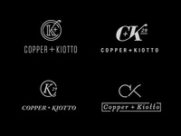 Copper And Kiotto Logo Mocks