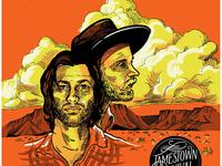 """Jamestown Revival """"Utah"""" Tour Poster"""