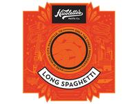 Nicolettos Pasta Label