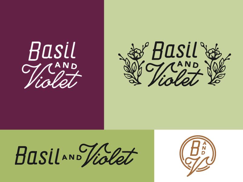 Basil violet a