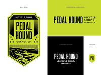 Pedal Hound Responsive Logo A
