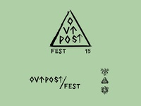Outpost Fest Logo and Secondary Marks