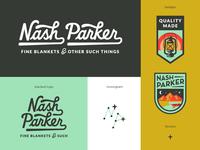 Nash Parker Blankets Final Logo System