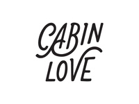 Cabin Love Wordmark