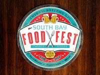 South Bay Food Fest Beer Coaster