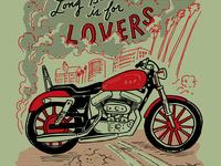SOP Long Beach is for Lovers Tee