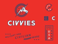 Civvies Logo (RIP Concept)