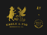 Eagle And Pig Logo A