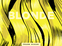 Frank Ocean: Blonde 10x16 Project