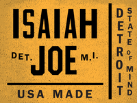 I.J. Logo Mock