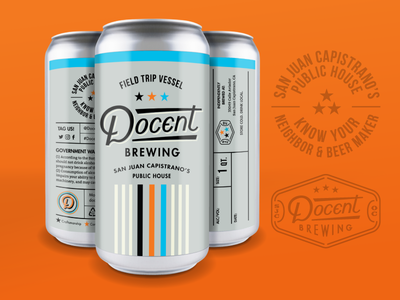 Docent Brewing Crowler Can
