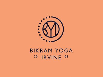 Byi Logo Dribbble yoga hoodzpah sleek simple monogram seal badge brand logo