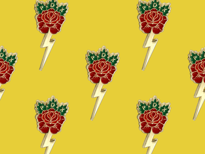 Portland City of Roses Pins