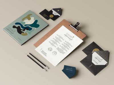 Stora Influencerpriset Branding and Event Collateral pattern awards program seal sweden event logo branding