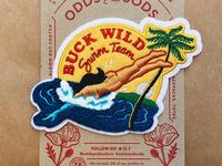 Buck Wild Chenille Patch