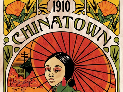 Chinatown Art Nouveau - Eureka Show Submission